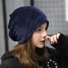 2017 Musim Gugur Musim Dingin Set Kepala Topi Wanita Han Melarang Remaja Tumpukan Tumpukan Topi Besar Jilbab-Internasional