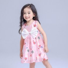 2017 Anak Gaun Grosir Penjualan Langsung Pabrik Anak Korea Cetak Dress untuk Perempuan-Intl