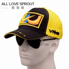 2017 Cotton VR46 Racing Cap Rossi Signature Moto Gp Motorcycle Car Race Caps Breathable Baseball Cap For Men Women