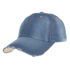 Harga 2017 Fashion Mens Womens Jean Olahraga Topi Kasual Denim Bisbol Cap Sun Hat Intl Satu Set