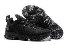 2017 FMVP King James LeBron James 14 Low Top New Color Original Men's Black Sneakers Bsketballs Shoe Sports NBA (40-45) - intl