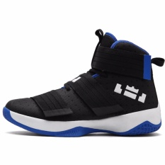 Sepatu basket tinggi atas baru sepatu olahraga bernapas mesh anti-selip sepatu - Internasional