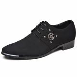 Spesifikasi 2017 Gaya Italia Pria Oxfords Shoes Kulit Menunjuk Toe Pakaian Bisnis Formal Sepatu Intl Terbaru