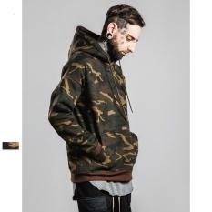 Beli 2017 Pria Musim Dingin Musim Gugur Kedatangan Baru Hoodies Dengan Topi Tinggi Fashion Hoodies Gaya Eropa Camo Maxi Plus Ukuran 4Xl 5Xl Hoodies Untuk Pria Teman Laki Laki Intl Murah Tiongkok
