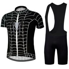 Harga 2017 Pria Bersepeda Jersey Set Bersepeda Pakaian Lengan Pendek Jersey Sepeda Celana Oto Sets Intl New