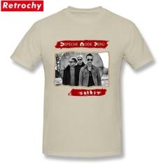 2017 Pria Populer Depeche Mode T Shirt Pria INGGRIS Violator Merchandise Kemeja Tour Tee Lengan Pendek Kapas Orang T-shirt Ukuran Besar-Intl