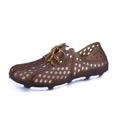 Spesifikasi Laki Laki 2017 Baru Gaya Fashion Casual Lubang Sepatu Pantai Intl Murah