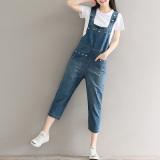 Harga Looesn Artistic With Pockets Ankle Length Pants Jeans Biru Baju Wanita Celana Wanita Celana Jeans Wanita Online Tiongkok