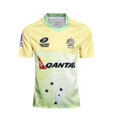 Spesifikasi 2017 Baru Tim Nasional Australia Home Rugby Jersey Shirt Pria Ukuran S 3Xl Intl