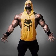2017 Baru Pakaian Fitness Tank Top Men Stringer Emas Binaraga Bodybuilding Workout Vest Gym Undershirt Plus Ukuran Kuning Intl Promo Beli 1 Gratis 1