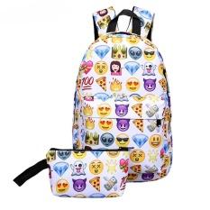 2017 Baru Fashion Wanita Pola Buaya Kecil Backpack Wanita Ransel Girl PU Leather Shoulder Bag Lady Embossed Tas Sekolah- INTL