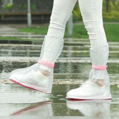 2017 Baru Fashion Plussize Tahan Air Non-slip Overshoe Plastik Rain Boots untuk EU: 42-Eu: 444 Sepatu-Intl
