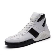 Harga 2017 New Martin Boots Olahraga Dan Kenyamanan Sepatu Pria Hip Hop Tinggi Top Sepatu Tebal Bawah Sepatu Musim Dingin Yang Hangat Intl Baru