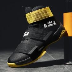 Promo 2017 Baru Pria Basket Sepatu Pria Sneakers Bernapas Outdoor Pria Athletic Sport Hombre Pria Ankle Boots Zapatillas Baloncesto Intl Oem