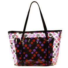 2017 new summer fashion bags relaxing beach bag shoulder bag transparent plastic bag - mother bunDianyahei