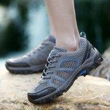 Harga 2017 Baru Wanita Profesi Hiking Sepatu Bernapas Anti Penyaradan Outdoor Sport Sepatu Abu Abu Intl Lengkap