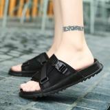 Cuci Gudang 2017 Summer Sandal Pria Sendal Kasual Leisure Soft Slide Sandal Dalam Ruangan Untuk Pria Intl