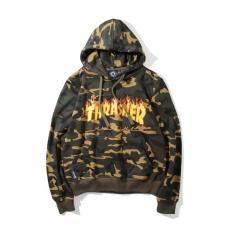 Spesifikasi 2017 Thrasher Pasangan Hoodies Musim Gugur Dan Musim Dingin Sweatshirts Street Gaya Lengan Panjang Athleisure Menepi Hoodies Berkualitas Tinggi Fashion Nyaman Hotb Intl