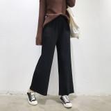 Toko Chic Kulot Korea Fashion Style Rajutan Musim Semi Dan Musim Panas Hitam Terdekat