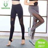 Toko Vansydical Wanita Mesh Splicing Legging Elastisitas Tinggi Cepat Kering Bernapas Kebugaran Yoga Ketat Celana Termurah Di Tiongkok