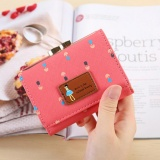 Beli 2017 Women S High Quality Leather Wallet Fashion Money Clips Coin Pocket Intl Secara Angsuran