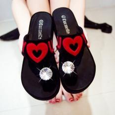 Spesifikasi 2017 Wanita Fashion Diamond Herringbone Sandal Musim Panas Sepatu Platform Kausal Peep Toe Sandal Intl