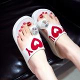 Beli 2017 Fashion Wanita Klip Herringbone Sandal Summer Platform Sepatu Kausal Peep Toe Sandal Intl Yang Bagus