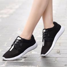 Beli 2018 Women S Kebugaran Sepatu Kasual Bernapas Mesh Coconut Menjalankan Sepatu Yang Bagus
