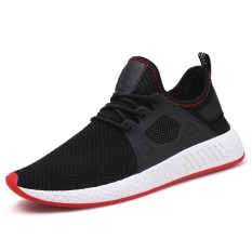 Beli 2018 Men Fashion Sneakers Breathable Running Shoes Men Casual Sport Shoes Mesh Shoes Intl Pake Kartu Kredit