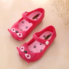2018 New Style Children's Sandals Jelly Shoes Cat Shoes - intl