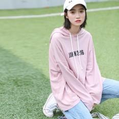 2018 Musim Semi Baru Feminim Mahasiswa Hoodie Plus Ukuran Wanita Kaus Panjang Lengan Olahraga Kasual Dirndl Bahan Katun Baju Anak -Internasional