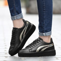 Spesifikasi 2018 Spring New Sports Shoes Within Increase White Shoes Women S Shoes Student Running Shoes Fashion Skateboard Shoes Intl Oem Terbaru