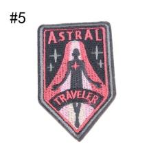 22 Gaya Patch Bordir Besi Di Bordiran Patch untuk Pakaian Tas Pakaian DIY Aksesoris Lebar 5.3 Cm Tinggi 9.3 CM -Intl