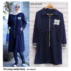 Toko 25 Long Jacket Fashion Long Jaket Wanita Online