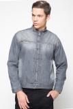 Beli 2Nd Red 101206 Jacket Jeans Grey Spray 101206 Di Jawa Barat