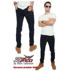 Spek 2Nd Red Celana Jeans Favorit Slim Fit Melar Blue Black Eksis Collection 133205 2Nd Red
