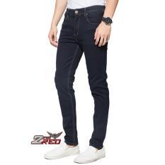 Jual 2Nd Red Celana Jeans Pria Slim Fit Premium Hitam Eksis Collection 133206A Baru