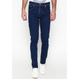 Beli 2Nd Red Celana Jeans Pria Slim Fit Denim Premium Biru Tua Eksis Collection133253 Baru