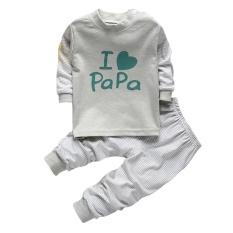 2 PC Bayi Laki-laki Pakaian Pakaian Anak-anak Bayi Page Boy Partai Setelan Pakaian Set-Intl