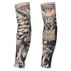 2 Pcs Tattoo Lengan Panjang Lengan Tato Palsu Tabir Surya Lengan (Tipe 8)-Intl
