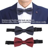 Harga 2 Pcs Set Pria Adjustable Bow Tie Necktie Fashion Pormal Na Kasuotan Pernikahan Party Bowtie Jb 25 Jb 30 Intl