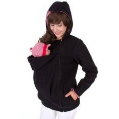 3 In 1 Kangaroo Jaket/coat untuk Ibu dan BAYI, Baby Carrier Hoodie, S/M/L/XL/XXL-Intl