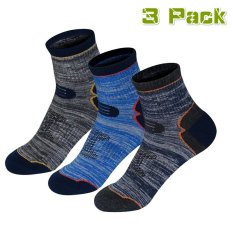3 Pack Pria Cotton Multi Fungsi Outdoor Low Hiking/Berkemah/Performance Socks untuk Musim