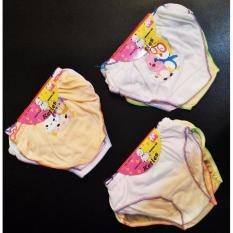 3 Pcs Celana Dalam Anak Perempuan - Allsize (Umur 3-5 tahun) - Warna Random
