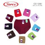 Jual 3 Pcs Celana Dalam Sorex Art 1250 Import
