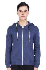 Jual Beli 3Second Men Clothing Hoodies Sweatshirts Pria Pakaian Hoodies Kaus Blue Biru Diskon Discount Murah Bazaar Baju Celana Fashion Brand Branded