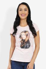 3 Second Ladies Tshirt Pink Diskon discount murah bazaar baju celana fashion brand branded