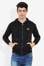 3second  Men Clothing Jackets & Coats Lightweight Jackets  Pria Pakaian Jaket & Coats Ringan Jaket Black Hitam Diskon discount murah bazaar baju celana fashion brand branded