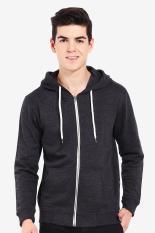 3second  Men Clothing Hoodies & Sweatshirts  Pria Pakaian Hoodies & kaus Grey Abu-abu Diskon discount murah bazaar baju celana fashion brand branded