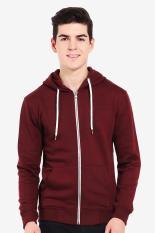 3second  Men Clothing Hoodies & Sweatshirts  Pria Pakaian Hoodies & kaus Red Merah Diskon discount murah bazaar baju celana fashion brand branded